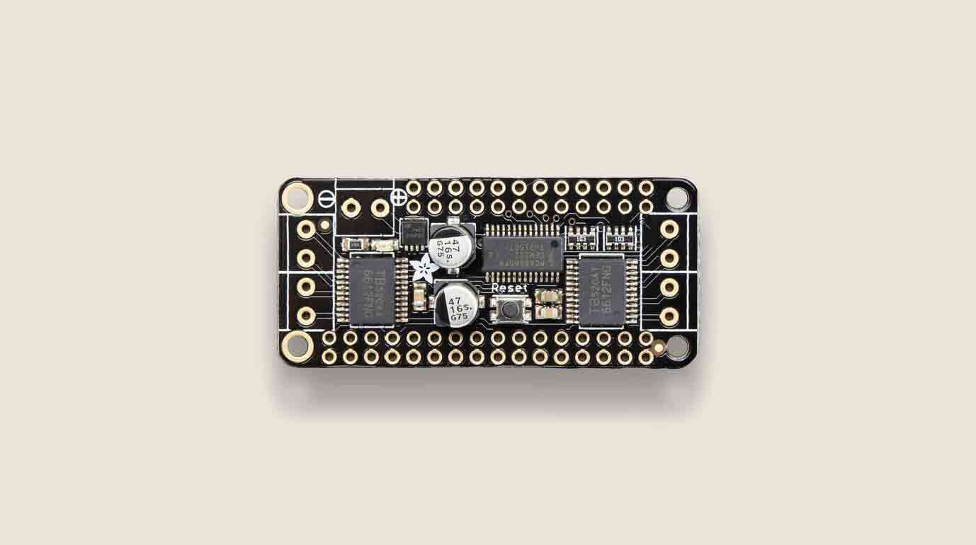 Adafruit Stepper Featherwing Image